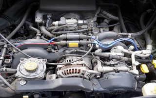 Двигатель ej20 какой бензин лить