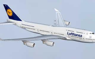 Боинг 747 какой двигатель