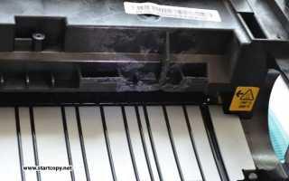 Xerox 3140 не работает двигатель