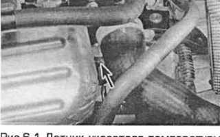 Датчик температуры двигателя ford mondeo