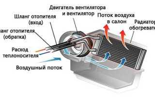 Как снять печку на ланосе