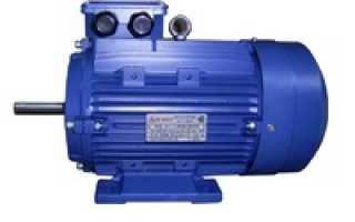 Что такое габарит асинхронного двигателя