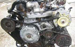 Двигатель td27eti расход топлива
