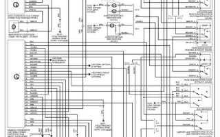 Электрическая схема двигателя bmw