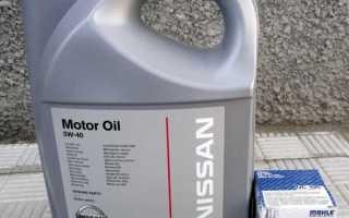 Двигатель hr15de какое масло лить