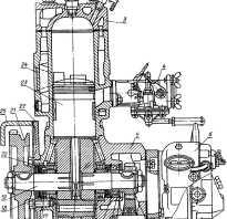 Электрическая схема пускового двигателя