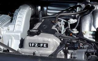 Двигатель 1fz fe расход
