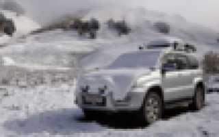 Тойота прадо 120 расход топлива