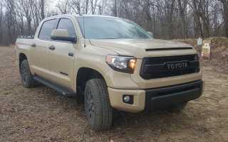 Тойота тундра расход топлива на 100 км