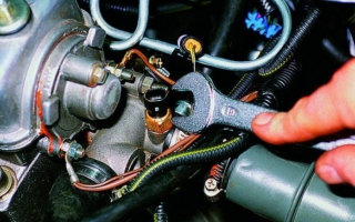 Датчик температуры двигателя долгий