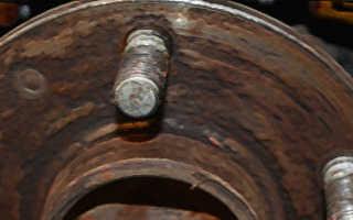 Как поменять задние колодки форд фокус 2