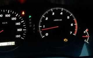 Toyota vista неисправность двигателя