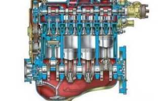 Что такое рабочий обьем двигателя