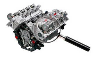 Экспертиза причин поломки двигателя