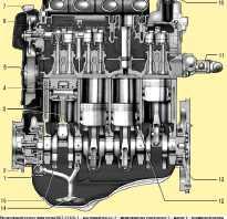 Ваз 126 двигатель схема