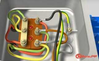 Электрическая схема реверса однофазного двигателя