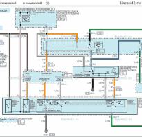 Электрическая схема двигателя стеклоочистителя