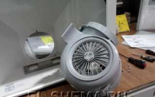 Электрическая схема двигателя вытяжки