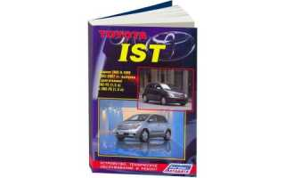 Toyota ist 2002 какой двигатель