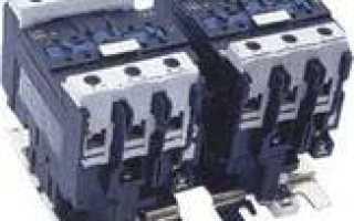 Электрические схемы реверсивный пуск двигателя