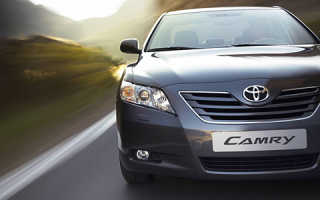 Toyota camry датчик температуры двигателя