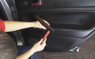 Как снять обшивку двери пассат б5