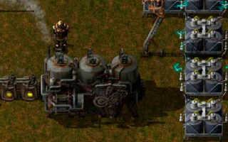 Factorio как построить паровой двигатель