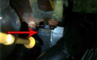 Где находится номер двигателя на шевроле круз