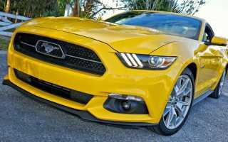 Ford mustang какой двигатель