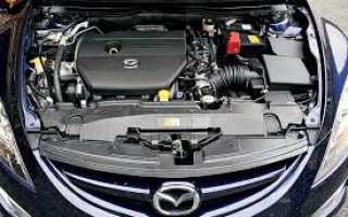 Мазда 6 ремонт двигателя