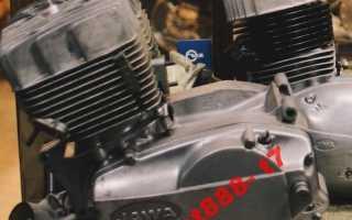 Ява 634 схема двигателя
