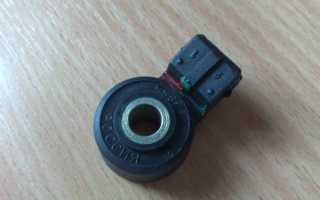 Датчик детонации ваз 2109 инжектор