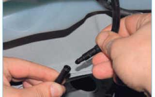 Как снять бачок омывателя форд фокус 2