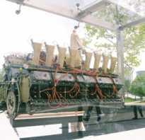 Двигатель v16 технические характеристики