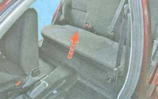 Как снять заднее сиденье шевроле лачетти