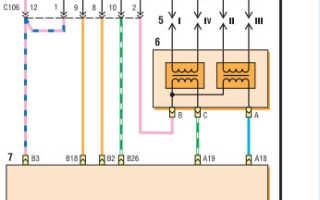 Электронная схема эбу двигателя
