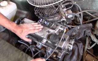 Шумно работает двигатель классика