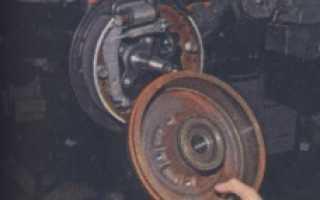 Рено дастер замена задних колодок