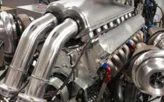 Что означает двигатель v16