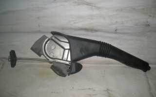 Регулировка ручного тормоза рено логан