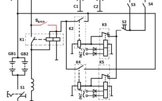 Электрическая схема электростартерный запуск двигателя