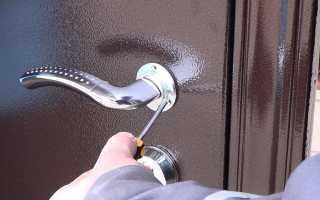 Как открыть железную дверь без ключа