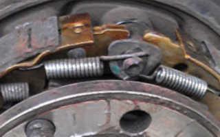 Шевроле лачетти замена колодок ручника