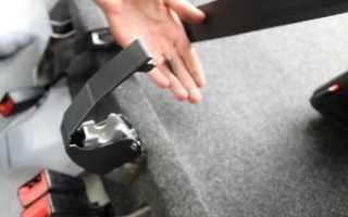 Как снять заднее сидение киа рио