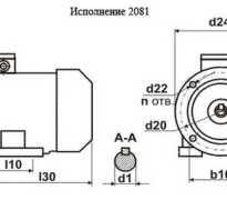 Асинхронный двигатель 220в характеристики