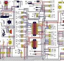 Электросхема ваз 2121 нива