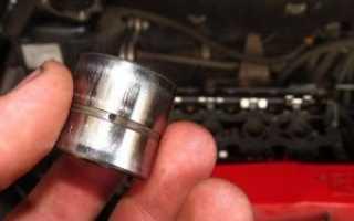 Шум гидрокомпенсаторов на холодном двигателе