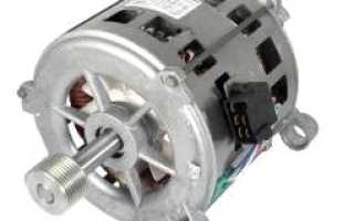Электронный запуск асинхронного двигателя