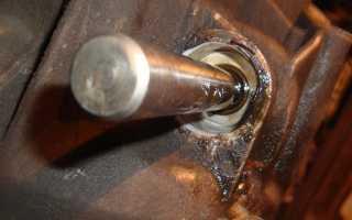 Что такое шток двигателя