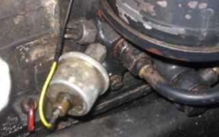 Датчик давления двигателя камаз 6520
